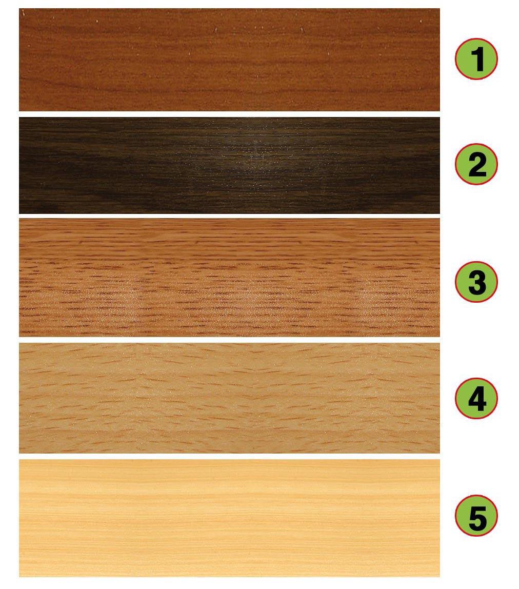barevnost dřevodekorů